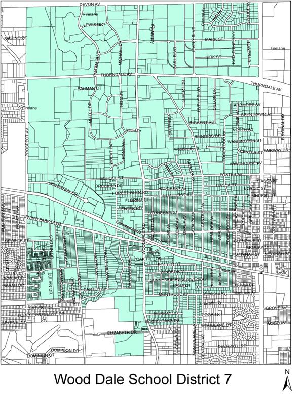 Wooddale Illinois Map.District Boundaries District Boundaries Homepage