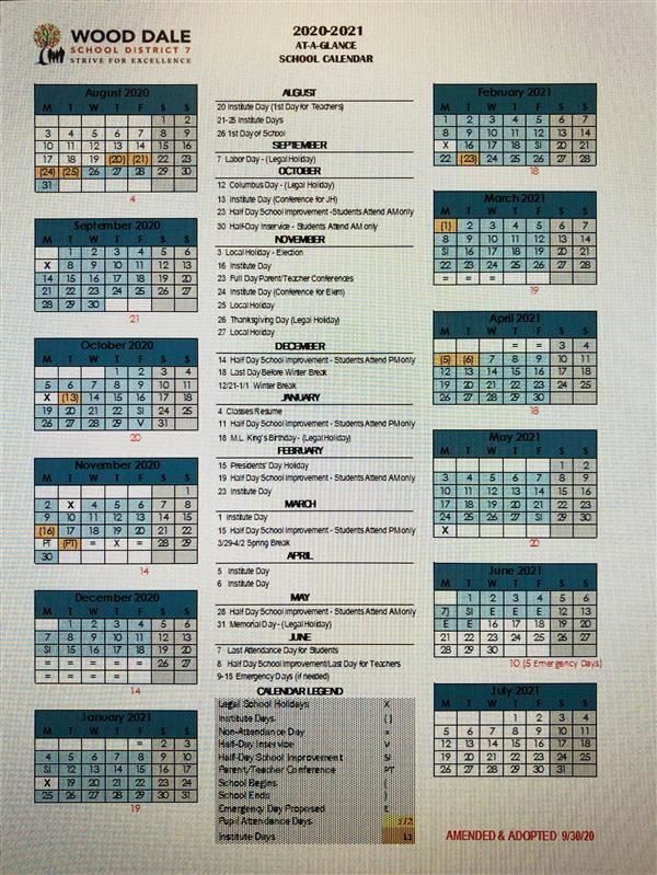 2020-2021 AMENDED & ADOPTED SCHOOL CALENDAR NOW AVAILABLE - EL CALENDARIO ESCOLAR 2020-2021 MODIFICADO Y ADOPTADO YA ESTA DISPONIBLE