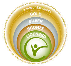ECEC RECOGNIZED BY THE ILLINOIS STATE BOARD OF EDUCATION FOR ACHIEVING THE GOLD CIRCLE OF QUALITY IN EXCELERATE ILLINOIS