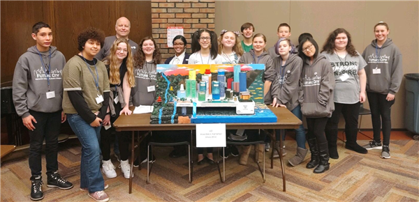 Junior High Future City Team wins 3rd place in regional Future City competition!